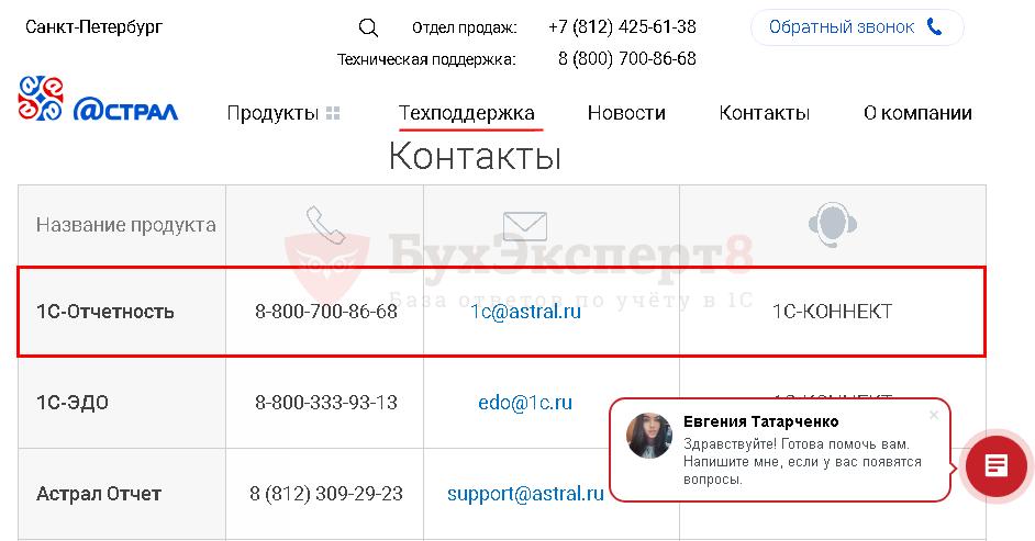 Не работает астрал электронная отчетность получение документов о регистрации ооо из налоговой